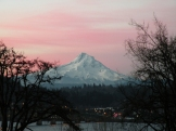 Steider Studios: Sunrise Over Mt. Hood