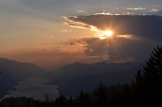 Steider Studios: Sunset Columbia River Gorge 9.14.12