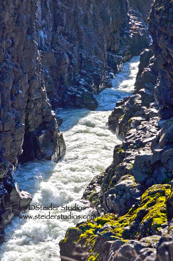 Steider Studios:  Klickitat River Canyon